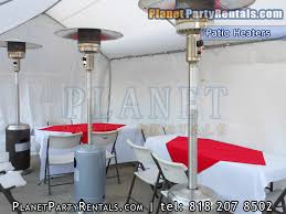rent chairs and tables for cheap patio heater rentals outdoor propane heaters for rent prices