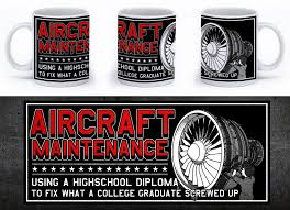aircraft maintenance using a high diploma to fix what a