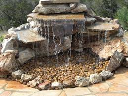 backyard waterfall kits home depot home outdoor decoration