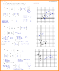 4 rotations geometry worksheet math cover