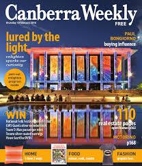 18 february 2016 by canberra weekly magazine issuu
