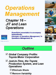 toyota company information operations management chapter 8 euro geographic information system