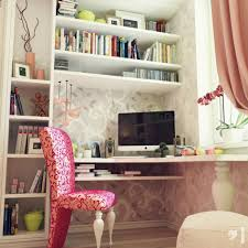 Pink Corner Desk Office Workspace Gorgeous Design For Work Office With Corner