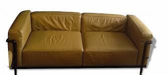 canape cuir le corbusier unique canapé cuir premium blanc 4 places