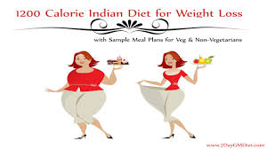 1200 calorie indian diet plan to lose weight w o exercise youtube