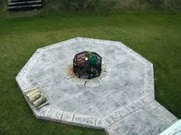 Firepit Pad Pit Pads Concrete Pits Pit Pad Deck Protect Mat Home