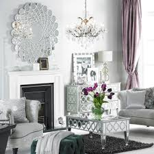 Citadelle Round Wall Mirror Mirrors Living Room - Decorative mirror for living room
