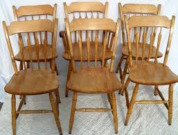maple dining chairs six bent bros arrow back maple dining chairs