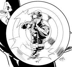 daily sketch captain america vs the winter soldier u2014 jason muhr