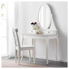 White Bedroom Dressing Tables Hemnes Dressing Table With Mirror Ikea