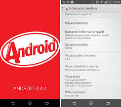 android 4 4 kitkat android 4 4 4 kitkat update arrives for sony xperia z1 compact