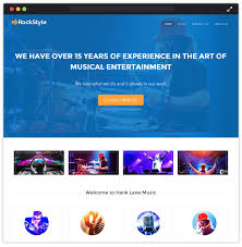 new 20 best music wordpress themes for musicians and rock band