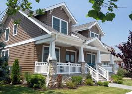 the craftsman style home exterior design in modern and classic
