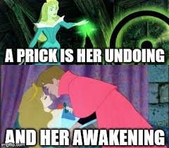 Sleeping Beauty Meme - sleeping beauty pricked fairy tale week a socrates red riding