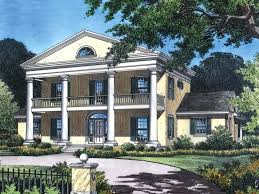 southern plantation house plans antebellum house plans colonial southern plantation design with