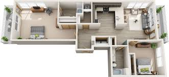 Multi Family Apartment Floor Plans Floor Plan Vogelweh Family Housing 2 And 3 Bedroom Apartments With