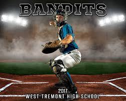 sports poster photo template up in smoke baseball layered