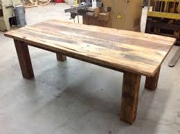 salvaged wood dining room tables reclaimed wood dining table brucall com