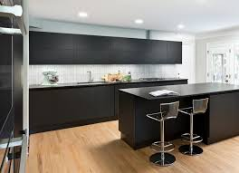 Scavolini Kitchens This Scavolini Dealer U0027s Home Kitchen Will Have You Craving Matte Black