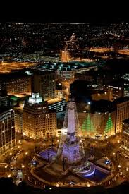 Indianapolis Circle Of Lights Monument Circle Indianapolis Indiana Usa Favorite Places