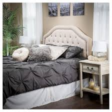 King Tufted Headboards by Angelica King California King Tufted Headboard Beige
