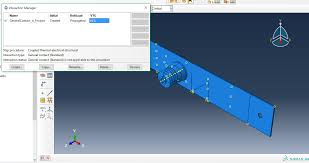 abaqus general contact and coupled
