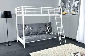 lit mezzanine 2 places avec canapé lit mezzanine avec clic clac integre lit mezzanine canape lit