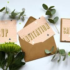wedding invitations edinburgh personalised wedding invitations geometry wedding stationery