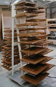 paint drying rack for cabinet doors shop built drying racks