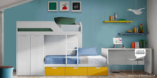 Bunk Beds With Wardrobe Funky Bunk Bunk Bed Image 3 Set Bunk Boat Interiors