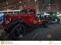 Antique Ford Truck Models - automobile tow truck based on the ford model bb 1935 editorial