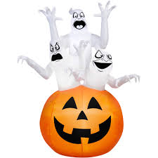 Halloween Air Blown Inflatables by Gemmy Airblown Inflatable 12 U0027 X 7 5 U0027 Giant Ghost Halloween