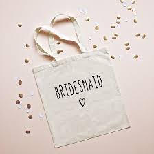 bridesmaids bags brand new tote bags for your bridesmaids the elli