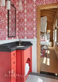 15 stylish bathrooms that celebrate pattern the scout guide