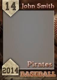 trading card template psd baseball trading card template sample