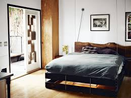 Suspended Loft Bed From Ceiling by The Tiny Hollywood Home Of Mad Men U0027s Vincent Kartheiser Dwell