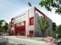 Home Design Companies Nyc Studio Gang Designs Brooklyn Training Facility For New York Fire