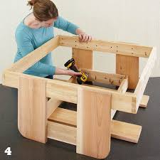 How To Build A Wooden Picnic Table by Kids U0027 Picnic Table