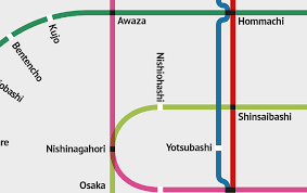 Osaka Subway Map by Osaka Subway Map On Behance