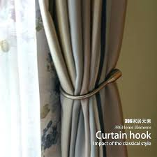 back hooks shower curtain tie back hooks mariodebian