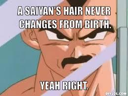 Adult Meme Generator - image vegeta moustache meme generator a saiyan s hair never