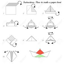 How To Make Boat From Paper - how to make paper ship paper ship tutorial step