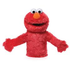 amazon gund sesame street elmo hand puppet toy toys u0026 games