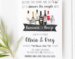 stock the bar invitations pink stock the bar invitation couples shower invitation
