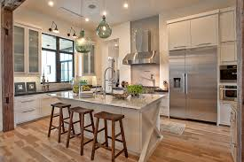 Austin Kitchen Cabinets Landscape Design Austin Kitchen Transitional With Glass Front