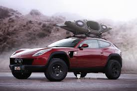 Ff Imagined As A 4x4 Off Roading Machine