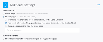 How To Do Invitation Card How To Set Up Invitation Only Events Eventbrite Help Center