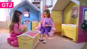 Dream Town Rose Petal Cottage Playhouse by Dreamtown Rose Petal Cottage Youtube
