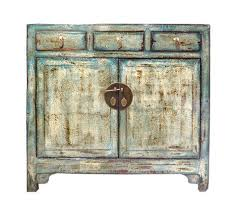 credenza table distressed blue side credenza table cabinet cs1695s