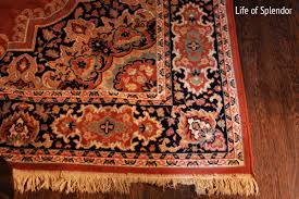 Red And Blue Persian Rug by When The Mr Says No Goodbye Persian Rug